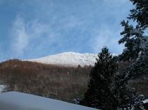 《冬》雪化粧の山々