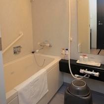 セパレートのバスルーム