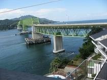 スカイテラスより大島大橋