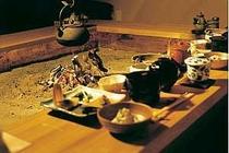 懐石風和食膳(写真は料理内容の一部