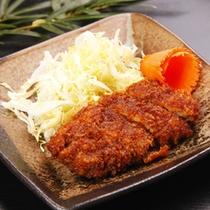 *「5周年特別プラン」お料理(一例)猪豚ソースカツ
