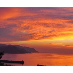 『楽天限定・GW』海望む温泉×夕陽に魅了<朝獲れお造り盛◆春のごちそう会席>特典付♪