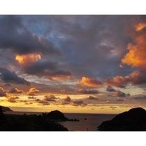今子浦の夕陽!