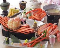 春味覚☆香住蟹会席フルコース