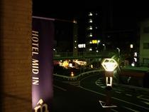☆ラウンジからの夜景☆