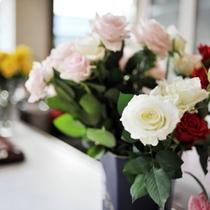 【はなや館内の彩】〜白薔薇〜