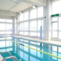 ◆クアタラソさぬき津田:本格的な20mプール。温水で1年中楽しめます!