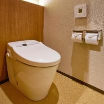 新築ルームのトイレ