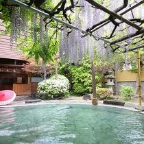 【藤館】野天風呂「文殊の湯」