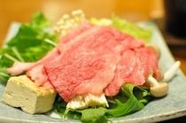 飛騨牛のすきやき(お肉)