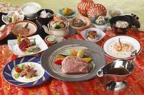 飛騨牛のステーキコース
