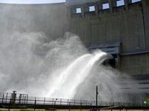 温井ダム放流C