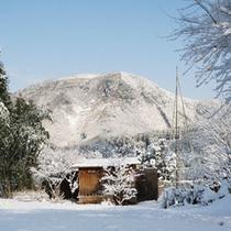 冬・雪景色-宝山