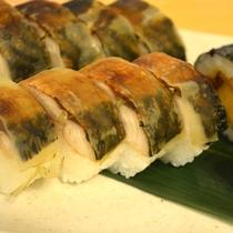 福井県名物の焼鯖寿司