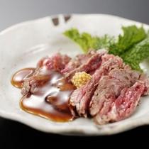 ≪能登牛料理例≫