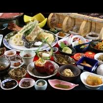 ◆【百彩百味】自家菜園の野菜がたっぷり♪見て楽しい食べて美味しい多皿のおもてなし膳(秋冬)