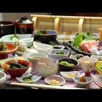 ◆【百彩百味】自家菜園の野菜がたっぷり♪見て楽しい食べて美味しい多皿のおもてなし膳