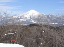 スノーシューを使って雪山へ