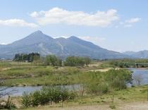 長瀬川周辺の景色