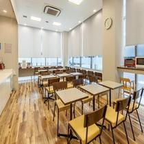 ◆明るい朝食コーナーで一日のスタートを気持ちよくどうぞ◆