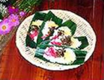 奥信濃の名物 笹寿司