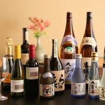 ■信州の地酒他、各種アルコールを取り揃えております。