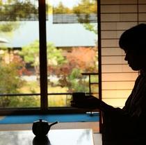■【黒部】の間でのお茶