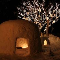 ■【冬】大町温泉郷で毎年開催される光のイベント