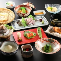 ■里山懐石料理(一例)