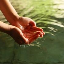 ■天然温泉100%、芯からほっこり