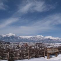 ■【冬】山岳博物館前