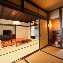■特別室【常念】お部屋お茶室が特徴的