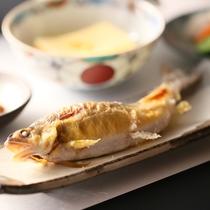 ■朝食の一例【鮎の塩焼き】