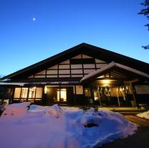 ■【外観】冬の夜