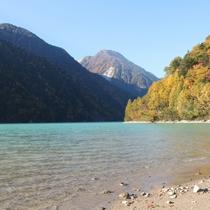 ■【秋】高瀬ダム湖頭