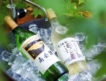 福島県のお酒を多数ご用意 会津ワイン一例