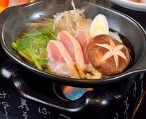 春会席 料理長特製 川俣軍鶏のすき焼き
