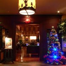 *クリスマス期間中のレストラン