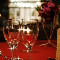 美食会テーブルイメージ