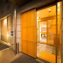 ホテル入口【外観】