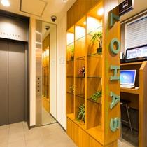 1階エレベーターフロア