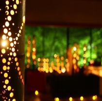 *竹灯りで夜を彩る