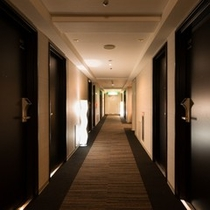 ★客室廊下★