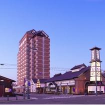 ホテル外観◆