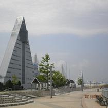 青森県観光物産館アスパム