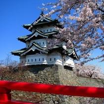 「弘前城」天守閣