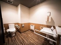 2階のトイレはバリアフリー対応
