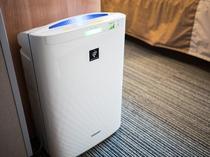 空気清浄器が各部屋にございます♪乾燥知らず・・