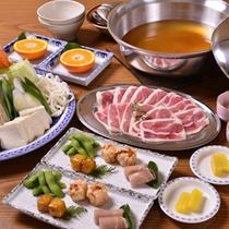 *お夕食一例(鴨鍋)