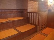 大浴場のサウナ